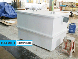 bể tách dầu mỡ composite FRP