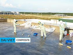 bọc phủ chống thấm composite FRP