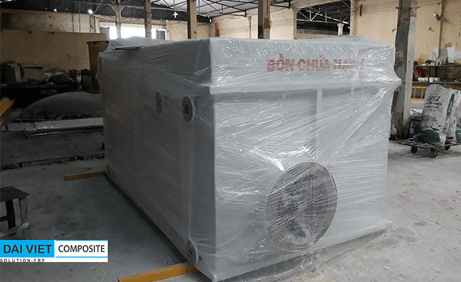 bồn composite chứa xút naoh