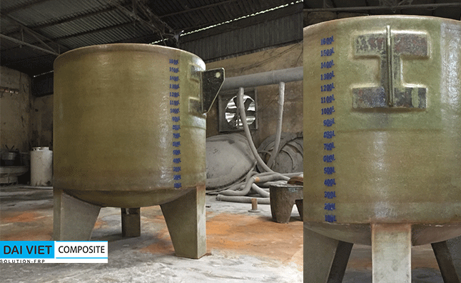 bồn chứa Clo trong hệ thống xử lý khí thải