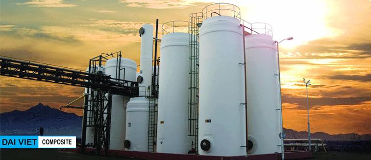 bon composite chứa hóa chất công nghiệp