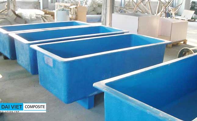 bồn composite thủy sản nuôi cá