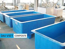 Bồn composite nuôi cá