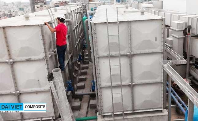 bảo dưỡng bảo trì định kỳ bồn chứa nước công nghiệp