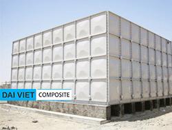 bồn nước lắp ghép công nghiệp composite