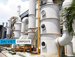 Hệ thống xử lý khí thải axit và bụi