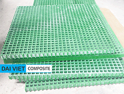 sàn nhựa chống trượt gratting composite FRP