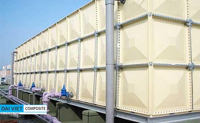 bồn nước công nghiệp sekisui có dung tích 1000 m3